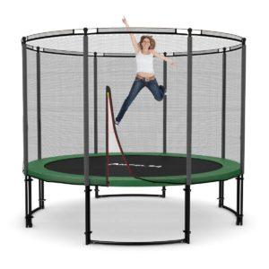 Deluxe Outdoor Trampolin 305 cm komplett mit Netz