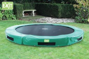 Bodentrampolin InTerra rund