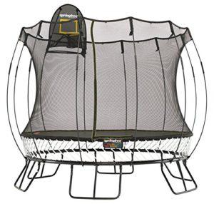 DAS aktuellste & sicherste RUNDE Trampolin am Markt