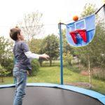 Trampolin Basketball-Set